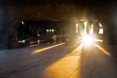 Λιμενικός λιμενοβραχίονας Struisbaai Στοκ εικόνες με δικαίωμα ελεύθερης χρήσης