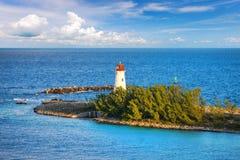 Λιμενικός φάρος Nassau, Μπαχάμες στοκ εικόνα