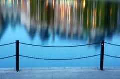 λιμενικό εσωτερικό nightshot Στοκ φωτογραφίες με δικαίωμα ελεύθερης χρήσης