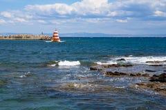 Λιμενικό κεφάλι στη θάλασσα Στοκ φωτογραφία με δικαίωμα ελεύθερης χρήσης