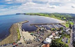 Λιμενικό κοβάλτιο Ballycastle Antrim Βόρεια Ιρλανδία Ιρλανδία Ν Ι ν Ι Στοκ Εικόνες