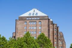 Λιμενικό κτήριο στο Αμβούργο, Γερμανία Στοκ εικόνα με δικαίωμα ελεύθερης χρήσης