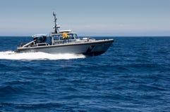 Λιμενικό περιπολικό σκάφος του Λος Άντζελες Στοκ εικόνα με δικαίωμα ελεύθερης χρήσης