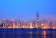 Λιμενικό πρωί Βικτώριας Χονγκ Κονγκ στοκ φωτογραφία με δικαίωμα ελεύθερης χρήσης