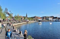 Λιμενικό φεστιβάλ LuleÃ¥ Στοκ εικόνα με δικαίωμα ελεύθερης χρήσης