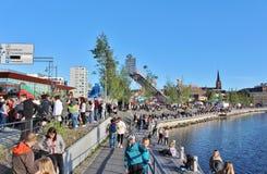 Λιμενικό φεστιβάλ LuleÃ¥ Στοκ Εικόνες
