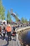 Λιμενικό φεστιβάλ LuleÃ¥ Στοκ Φωτογραφία