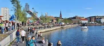 Λιμενικό φεστιβάλ LuleÃ¥ Στοκ φωτογραφίες με δικαίωμα ελεύθερης χρήσης