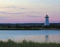 Λιμενικό φως Edgartown Στοκ Εικόνες
