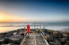 Λιμενοβραχίονας αμμουδιών Στοκ φωτογραφία με δικαίωμα ελεύθερης χρήσης