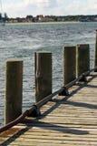 Λιμενοβραχίονας βαρκών Στοκ Εικόνες