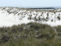 Λιμενοβραχίονας παραλιών του ST Andrews Φλώριδα Στοκ φωτογραφίες με δικαίωμα ελεύθερης χρήσης