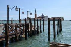 Λιμενοβραχίονας στη Βενετία Στοκ Φωτογραφία