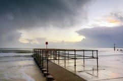 Λιμενοβραχίονας του Bournemouth Στοκ Φωτογραφία