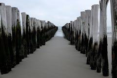 Λιμενοβραχίονας Zeeland, Ολλανδία Στοκ εικόνες με δικαίωμα ελεύθερης χρήσης