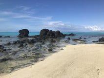 Λιμνοθάλασσα Aitutaki στοκ φωτογραφία με δικαίωμα ελεύθερης χρήσης