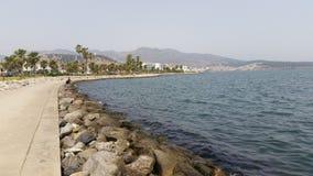 Λιμνοθάλασσα Marchika, Μαρόκο στοκ φωτογραφίες