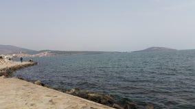 Λιμνοθάλασσα Marchika, Μαρόκο στοκ φωτογραφίες με δικαίωμα ελεύθερης χρήσης