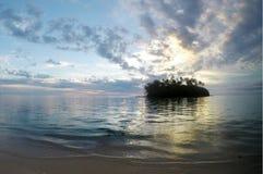 Λιμνοθάλασσα Muri στις νήσους Rarotonga Κουκ ανατολής Στοκ εικόνα με δικαίωμα ελεύθερης χρήσης