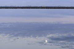 Λιμνοθάλασσα κοιλάδων Comacchio Στοκ εικόνες με δικαίωμα ελεύθερης χρήσης
