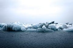 Λιμνοθάλασσα παγετώνων στην Ισλανδία Στοκ φωτογραφία με δικαίωμα ελεύθερης χρήσης