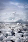 Λιμνοθάλασσα παγετώνων Στοκ εικόνα με δικαίωμα ελεύθερης χρήσης