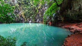 Λιμνοθάλασσα πριγκηπισσών Ταϊλάνδη, Krabi Στοκ Εικόνες
