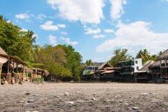Λιμνοθάλασσα σε Playa EL Tunco, Ελ Σαλβαδόρ Στοκ φωτογραφία με δικαίωμα ελεύθερης χρήσης