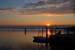 Λιμνοθάλασσα της Βενετίας Στοκ Εικόνες