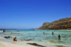 Λιμνοθάλασσα Balos στην Κρήτη, Ελλάδα Στοκ φωτογραφία με δικαίωμα ελεύθερης χρήσης