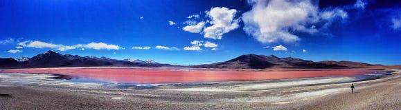 Λιμνοθάλασσα Colorada Στοκ φωτογραφίες με δικαίωμα ελεύθερης χρήσης