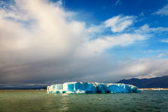 Λιμνοθάλασσα Jokulsarlon Στοκ φωτογραφία με δικαίωμα ελεύθερης χρήσης