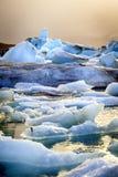 Λιμνοθάλασσα Jokulsarlon Στοκ εικόνες με δικαίωμα ελεύθερης χρήσης