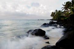 Λιμνοθάλασσα Muri στις νήσους Rarotonga Κουκ Στοκ φωτογραφία με δικαίωμα ελεύθερης χρήσης