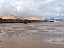 Λιμνοθάλασσα Risco Ελ Πάσο Playas de Sotavento, Fuerteventura Στοκ φωτογραφία με δικαίωμα ελεύθερης χρήσης