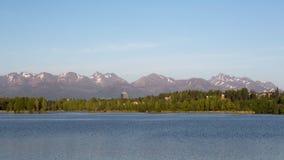 Λιμνοθάλασσα Westchester στο Anchorage στοκ φωτογραφία με δικαίωμα ελεύθερης χρήσης