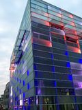 Λιντς/Αυστρία - 26 Σεπτεμβρίου 2015: πρόσοψη του ARS Electronica Στοκ Εικόνες