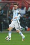 Λιονέλ Messi Στοκ Εικόνες