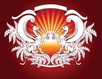 λιοντάρια φτερωτά απεικόνιση αποθεμάτων