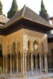 Λιοντάρια Patio, Alhambra, Γρανάδα, Ισπανία Στοκ Εικόνες