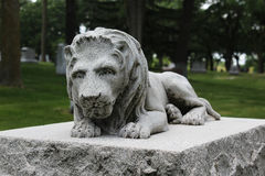 Λιοντάρι γρανίτη Στοκ φωτογραφία με δικαίωμα ελεύθερης χρήσης