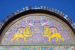 Λιοντάρι και ήλιος στοκ φωτογραφίες
