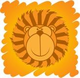 Λιοντάρι κινούμενων σχεδίων απεικόνιση αποθεμάτων