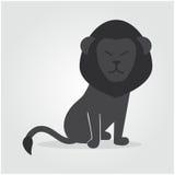 Λιοντάρι λογότυπων Στοκ Εικόνα
