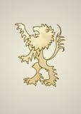 Λιοντάρι οικοσημολογίας Στοκ φωτογραφία με δικαίωμα ελεύθερης χρήσης