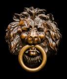 λιοντάρι ρόπτρων πορτών Στοκ εικόνες με δικαίωμα ελεύθερης χρήσης