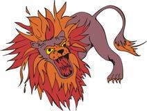 λιοντάρι τρελλό ελεύθερη απεικόνιση δικαιώματος