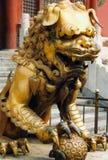 λιοντάρι φρουράς Στοκ φωτογραφία με δικαίωμα ελεύθερης χρήσης