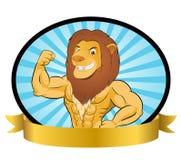 Λιοντάρι Bodybuilder Στοκ φωτογραφίες με δικαίωμα ελεύθερης χρήσης