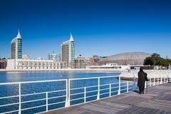 ΛΙΣΣΑΒΩΝΑ, ΠΟΡΤΟΓΑΛΙΑ - 31 Ιανουαρίου 2011: Gama του Vasco DA πύργος και Στοκ Φωτογραφία